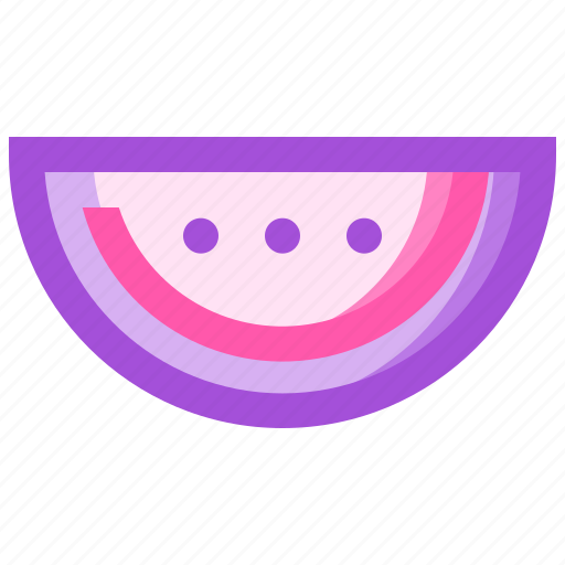 food, fruit, health, meat, watermelon icon