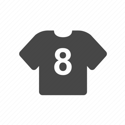 football, player, shirt, soccer, team icon