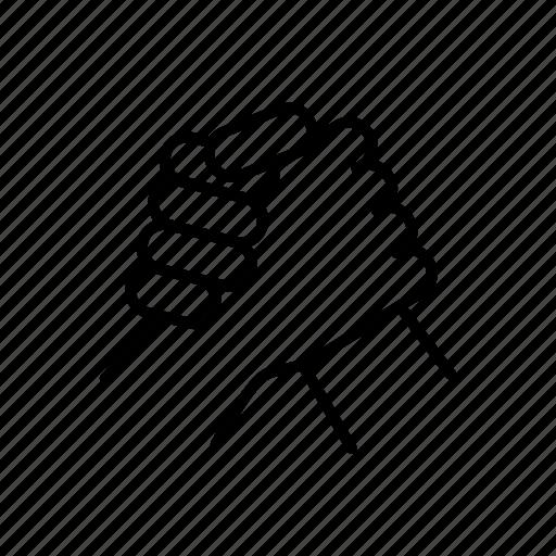 arm, friendly, hand, sport, sportive, wrestling icon