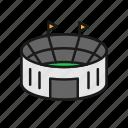 field, football, match, soccer, stadium, tournament icon