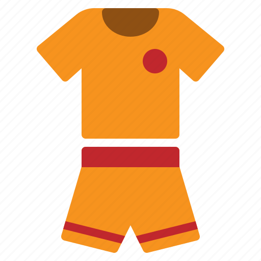 clothes, football, jersey, shirt, shorts, soccer, wear icon