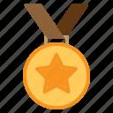 award, badge, medal, sports, trophy, win, winner