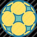 ball, football, round, soccer, soccer icon icon