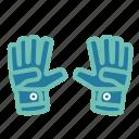 football, gloves, goalkeeper gloves, soccer, soccer icon icon