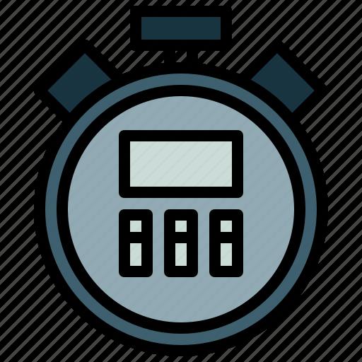 chronometer, interface, sports, stopwatch, time, timer, wait icon