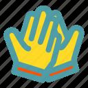 football, gloves, soccer, sport icon