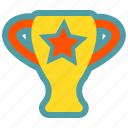 football, trophy, win icon
