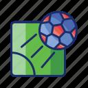ball, box, corner, football, soccer