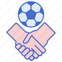friendly, game, soccer, football