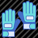 gloves, hand, football