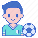 player, soccer, football