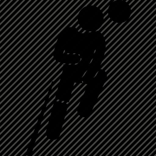 football, head, heading, player, soccer icon