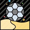 beach, football, soccer, summer icon