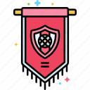 emblem, game, play, sport icon