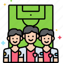 first, group, people, team icon