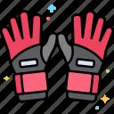 fingers, gesture, gloves, hand icon