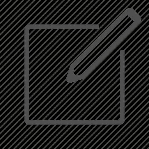 add, adit, aditing, form, pencil icon