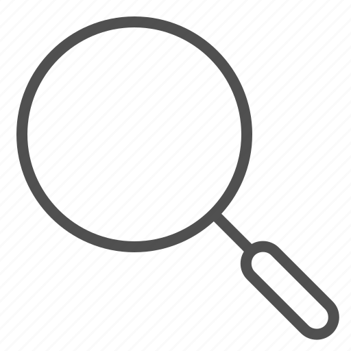 data, files, glass, magnifier, search, zoom icon