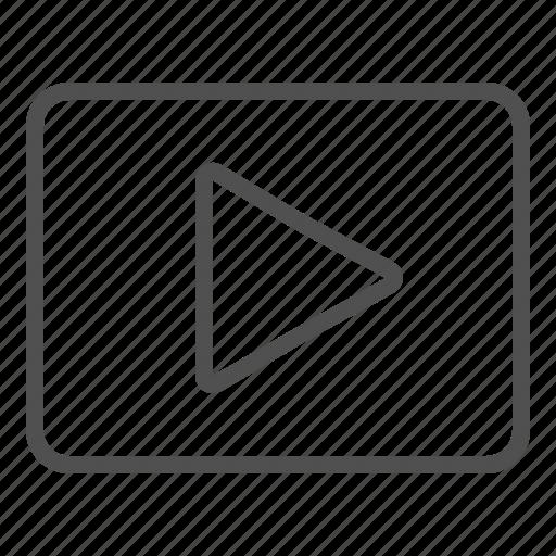 media, movie, music, play, player, video icon