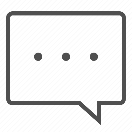 bubble, chat, conversation, massage, send, text icon