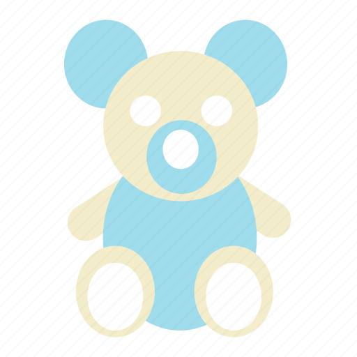 bear, children, play, tedy bear, toy icon