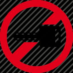 auto, car, drive, forbidden, motor, vehicle icon