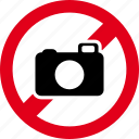camera, forbidden, image, photo, photography, photos, picture icon