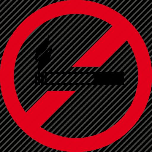 cigarette, forbidden, no, smoke, smoking, stop icon