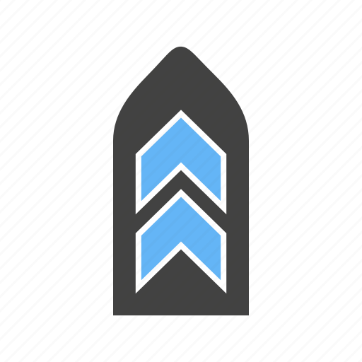 army, badge, for, uniform icon
