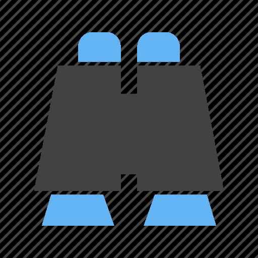 binoculars, for, image, zooming icon