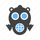 emergency, for, mask, oxygen icon