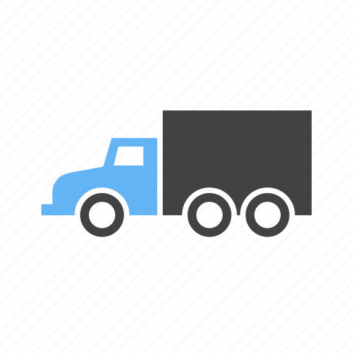 for, long, luggage, truck, vehicle icon