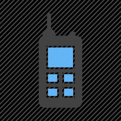 cellular, phone, talkie, walkie icon