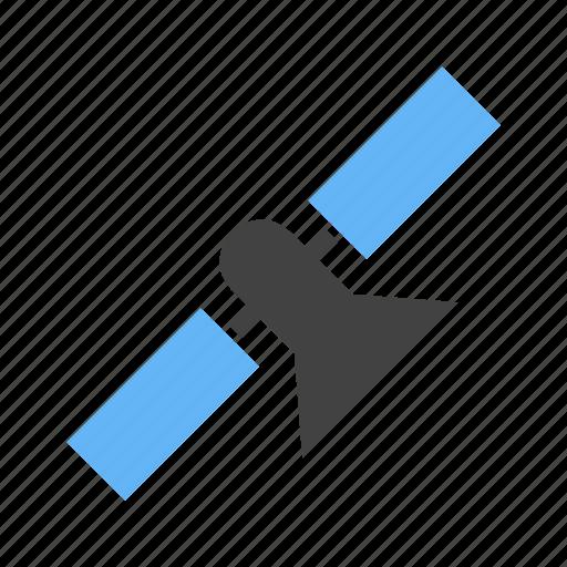 detecting, device, drone, gps, satellite icon
