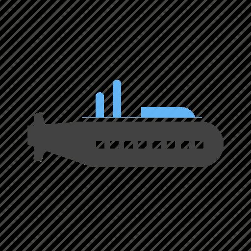 fighting, navy, submarine, water icon