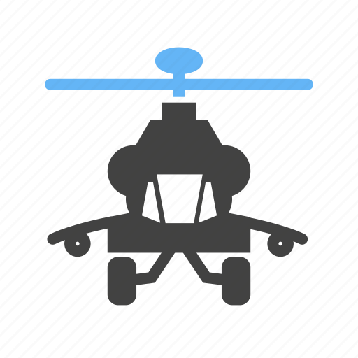 flying, helicopter, military, purpose icon