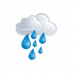 cloud, cloudy, drop, drops, forecast, rain, weather icon