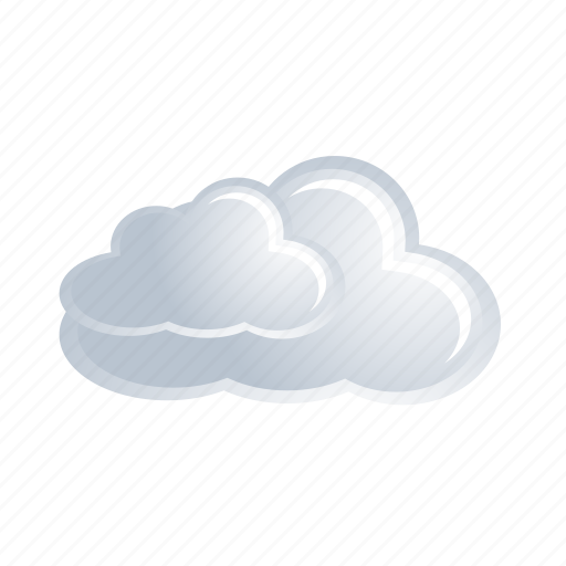 cloud, cloudy, data, forecast, weather, white icon