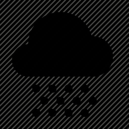 atmosphere, atmospheric, cloud, forecast, rain, snow, weather icon