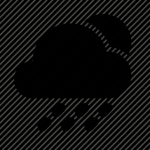 atmosphere, atmospheric, cloud, forecast, rain, sun, weather icon
