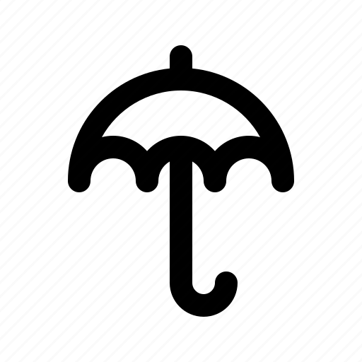 atmosphere, atmospheric, condition, forecast, rain, umbrella, weather icon