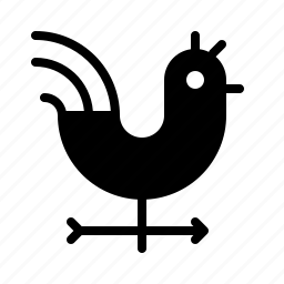 atmosphere, atmospheric, condition, forecast, rooster, weather icon