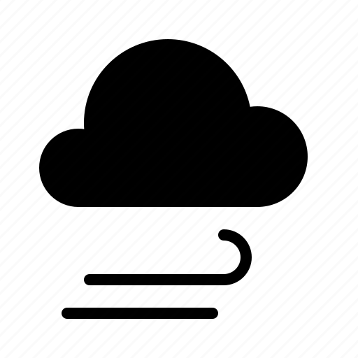 atmosphere, cloud, condition, forecast, rain, weather, wind icon