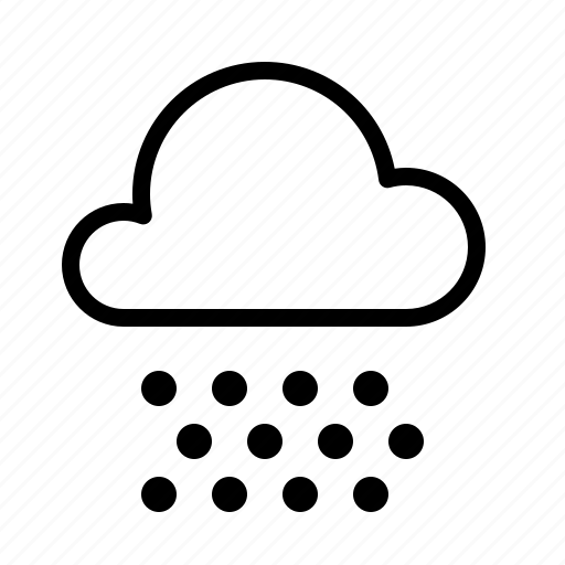 atmosphere, cloud, condition, forecast, rain, snow, weather icon
