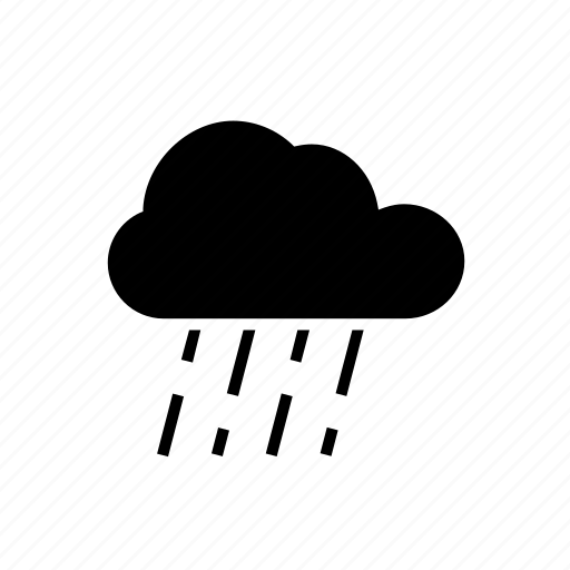 cloud, forecast, overcast, rain, weather icon