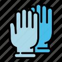 forensic, laboratory, gloves