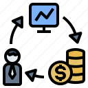 businessman, entrepreneur, income, investment, trader
