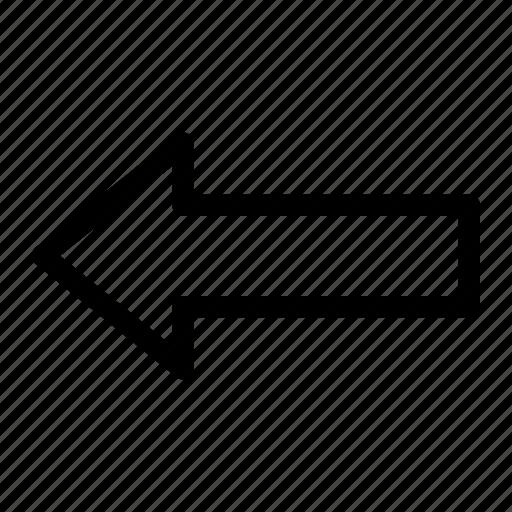 app, arrow, left icon icon