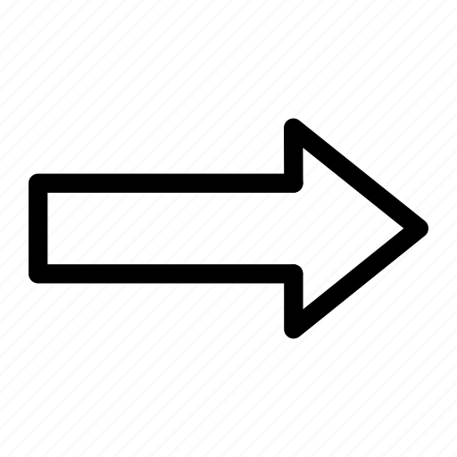 app, arrow, right icon icon