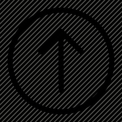 app, arrow, top icon, up icon